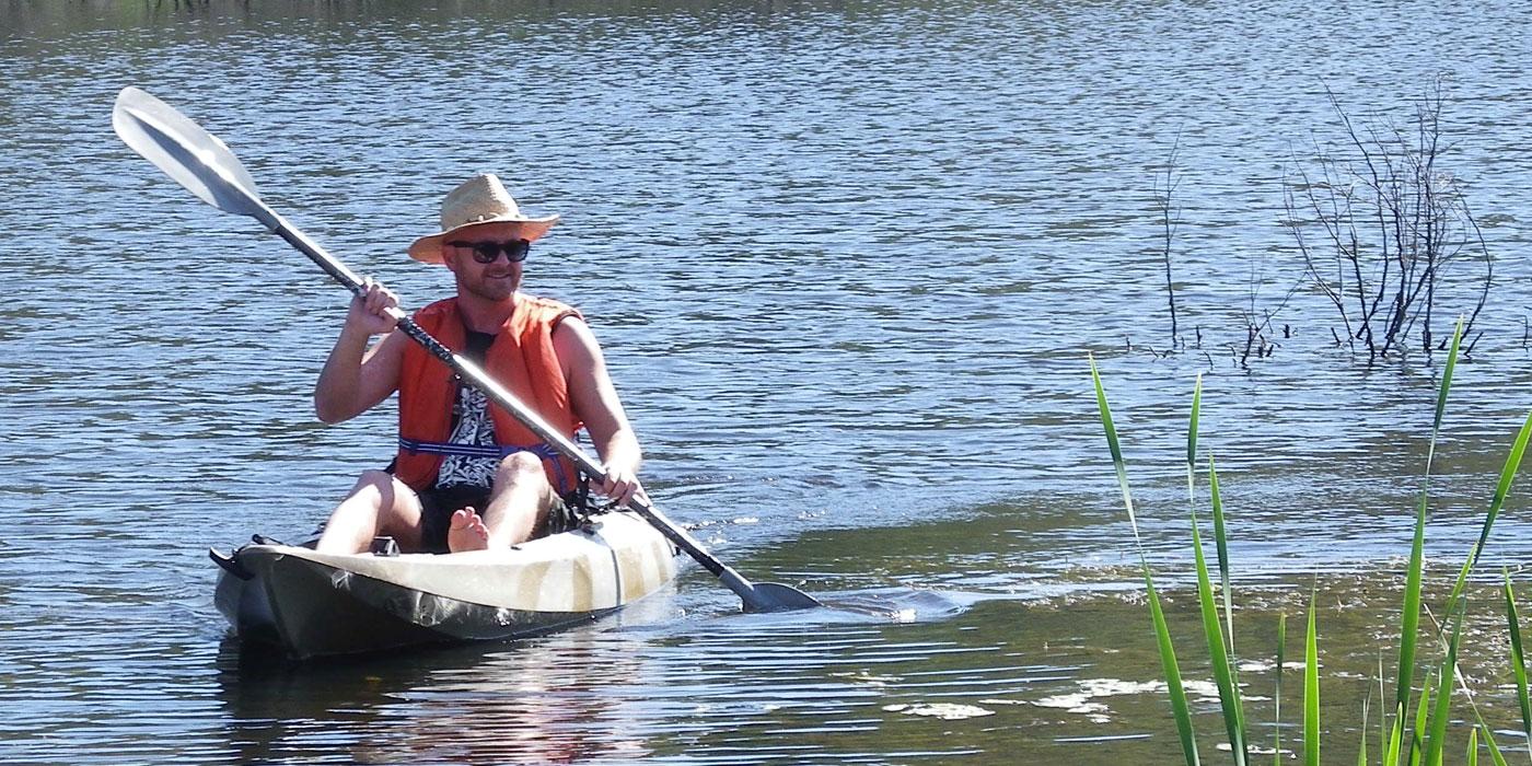 Kayaker (Image B. Egloff)